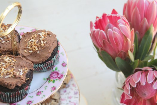 cupcakes and proteas